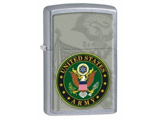 Zippo US Army Street Chrome Lighter