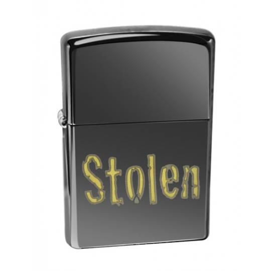 Zippo Stolen Ebony Lighter - 28834