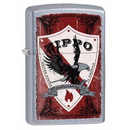 Zippo Shield - Street Chrome Lighter