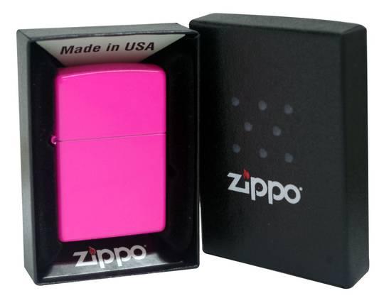 Zippo Neon Pink Lighter