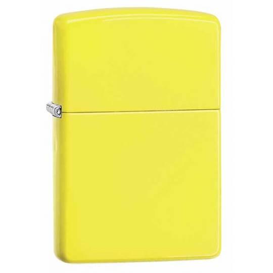 Zippo Neon Yellow Lighter