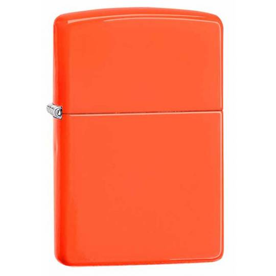 Zippo Neon Orange Lighter