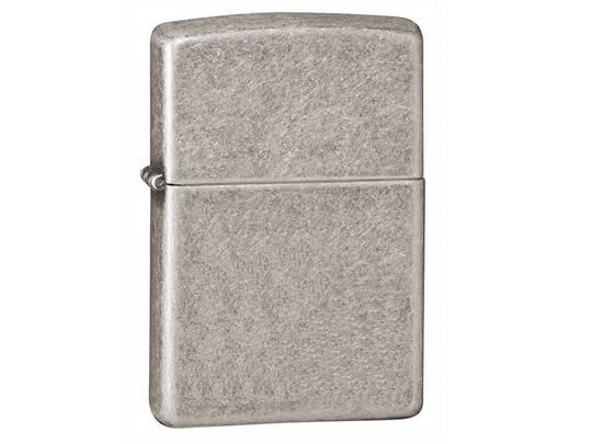 Zippo Armor® Antique Silver Plate