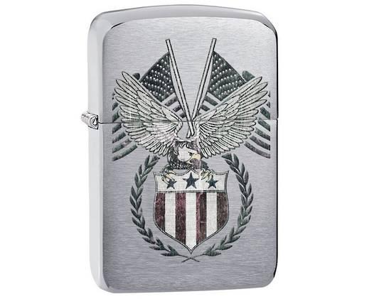 Zippo 1941 Replica American Flag Lighter