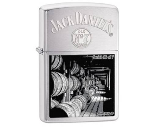 Zippo Jack Daniels Limited Scenes Lighter