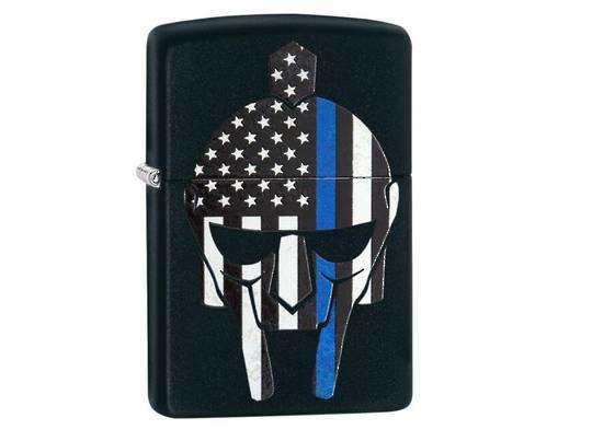 Zippo Gladiator Blue Line Lighter