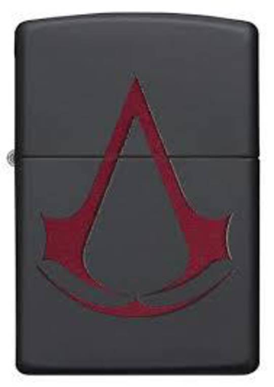 Zippo Assassin's Creed Black Matte Lighter