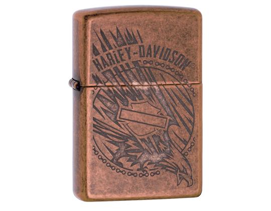 Zippo Harley-Davidson® Copper Eagle Lighter