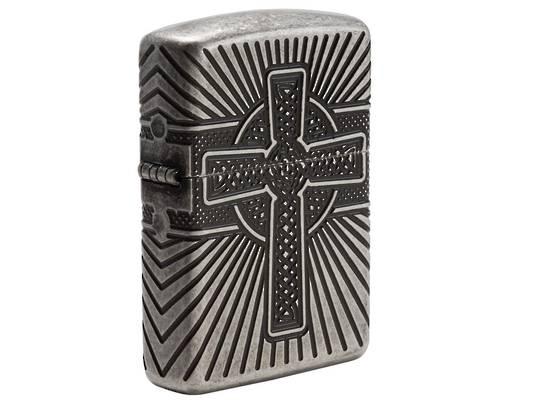 Zippo Armor® Celtic Cross Design