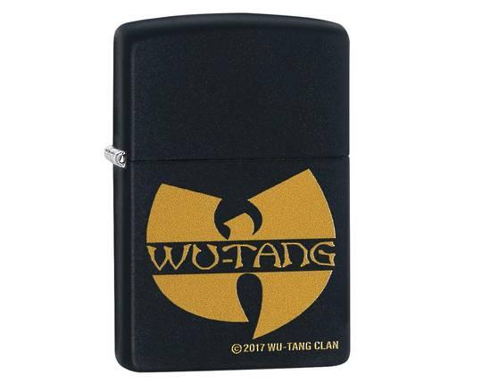 Zippo Wu-Tang Clan Black Matte