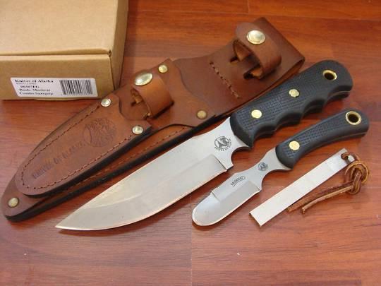 Knives of Alaska Bush Muskrat Combo Suregrip- 307FG