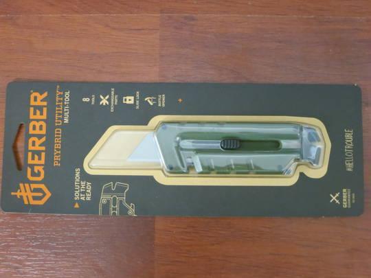 Gerber Prybrid Utility Multi-Function Tool, Green G10 Handles -