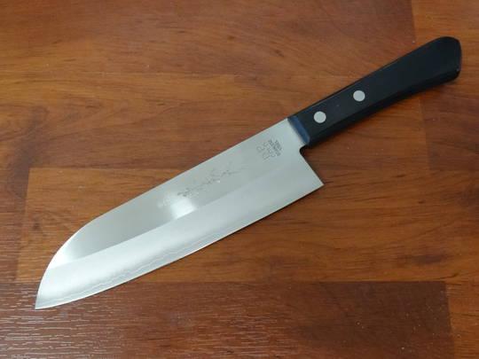 Yaxell Kaneyoshi Santoku VG-5 Pakkawood Kitchen Knife 165mm
