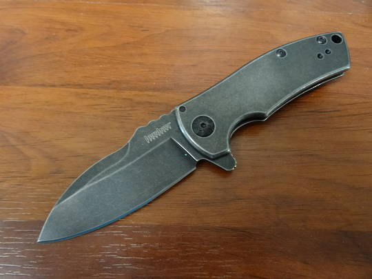 Kershaw Spline A/O s/s Blackwash Folding Knife - 3450BW No box