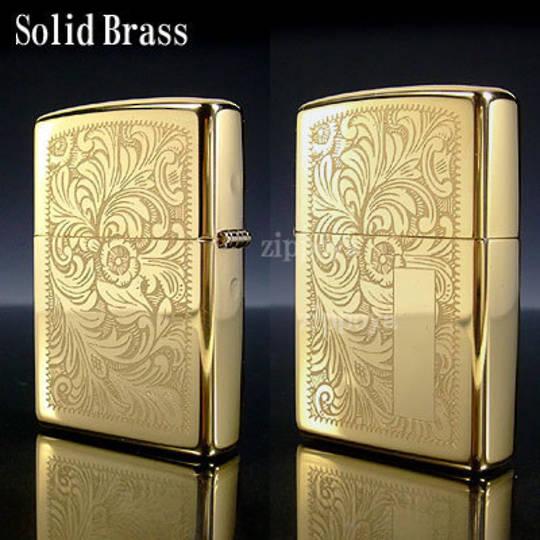 ZIPPO Venetian High Polish Brass Lighter