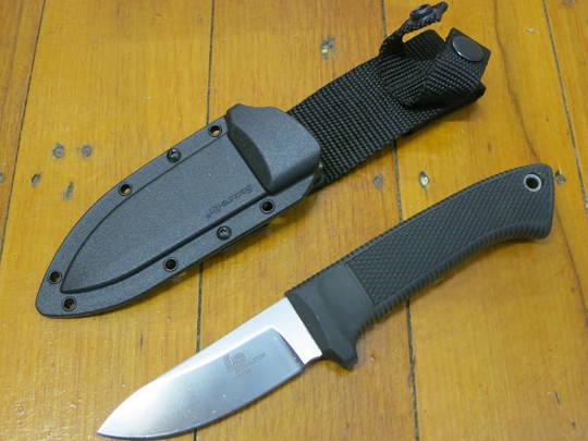 Cold Steel Pendleton Hunter Fixed AUS10 Blade, Kray-Ex Handles