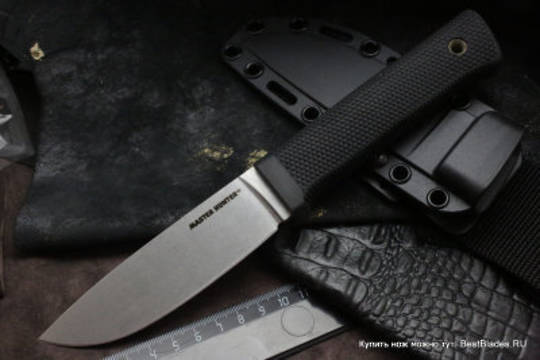 Cold Steel Master Hunter CPM-3V Stonewashed Blade, Kray-Ex Handle