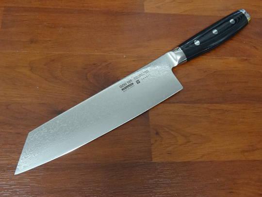 GOU Damascus Japanese Kiritsuke Knife 200mm - 101 Layers  - Display Model