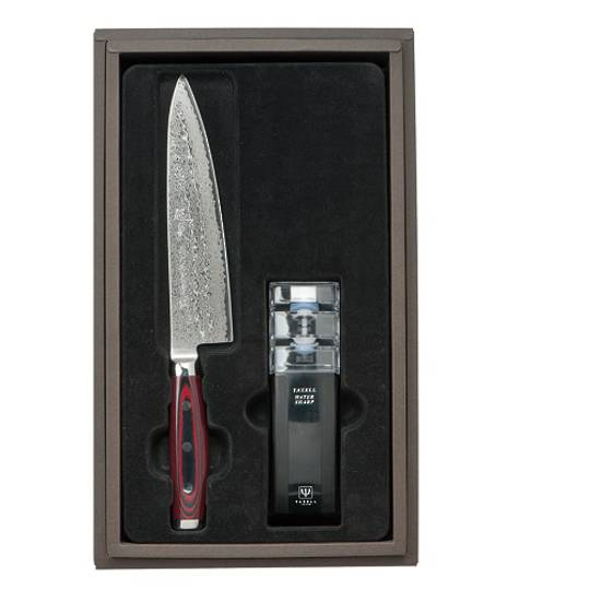 Super GOU Japanese Damascus Chefs Knife 2PC Gift Set