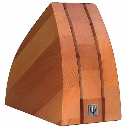Yaxell Knife Block Set fits 6 knives Beechwood