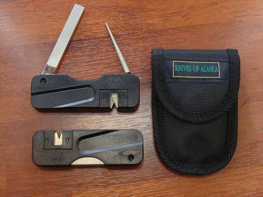 Knives of Alaska 3 Way Sharpener - 396FG