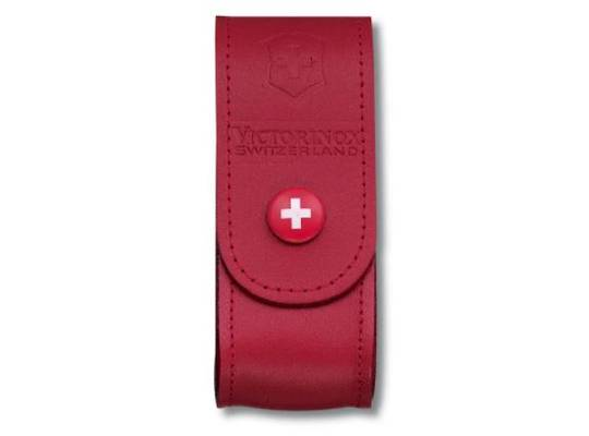 Victorinox Belt Leather Red Medium 91mm