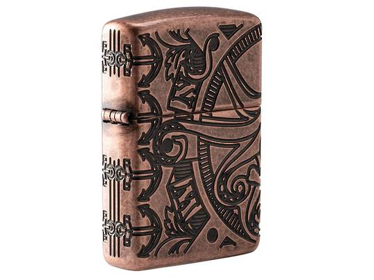 Zippo Nautical Scene Design Lighter