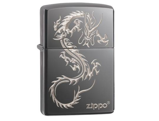 Zippo Chinese Dragon Design Lighter