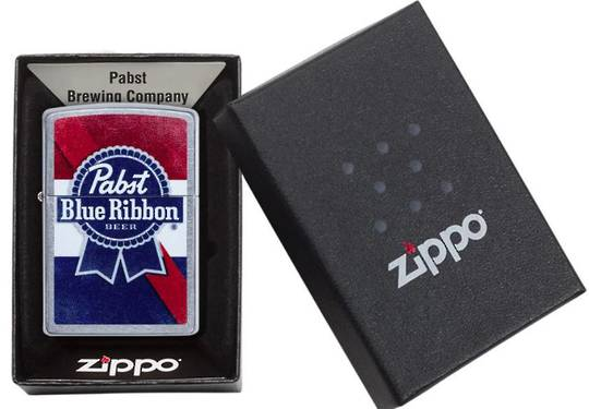 Zippo Pabst Blue Ribbon Lighter
