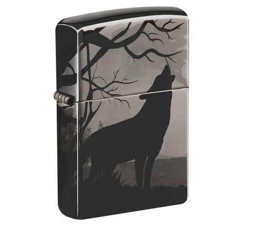 Zippo Wolves Design