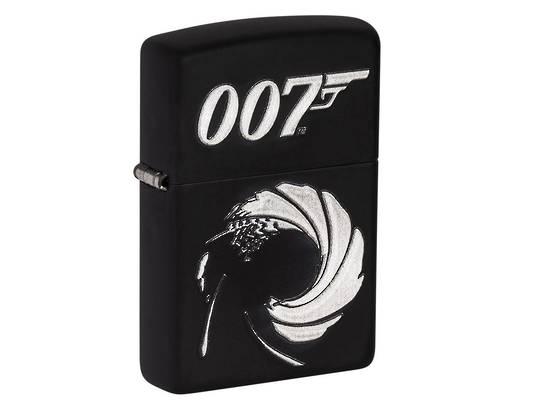 Zippo James Bond 007™ Black Lighter