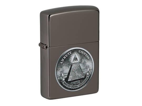 Zippo Dollar Design Lighter