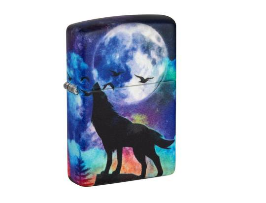 Zippo Wolf Design Lighter