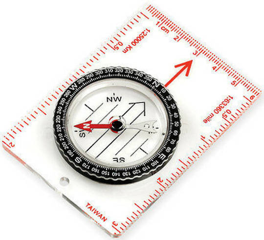 GIFTZONE - NDuR Map Compass Medium - 51520 Purchase for $10 on orders over $50