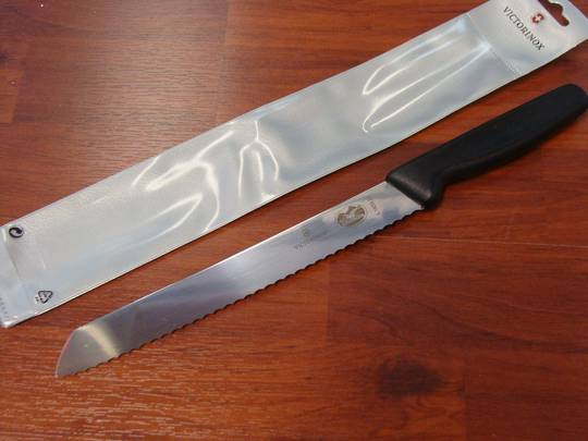 Victorinox Bread Serrated Edge Knife 21cm