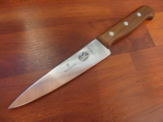 Victorinox Chef Knife 19cm Wood
