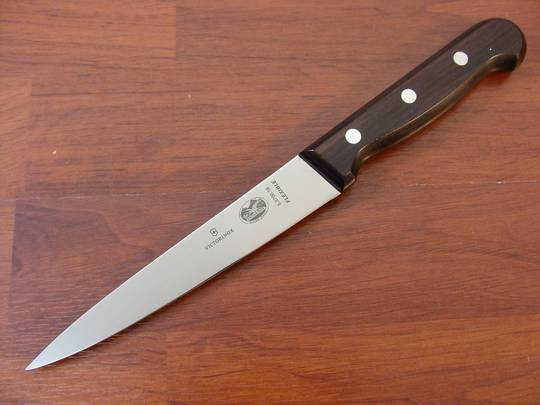 Victorinox Filleting Knife 16cm Rosewood Flexible