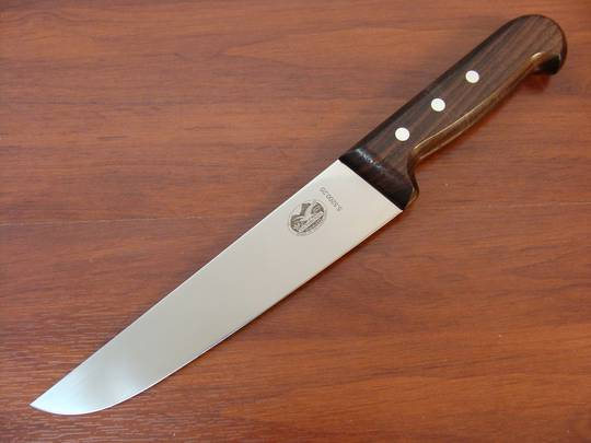 Victorinox Butcher Knife 20cm Rosewood Handle