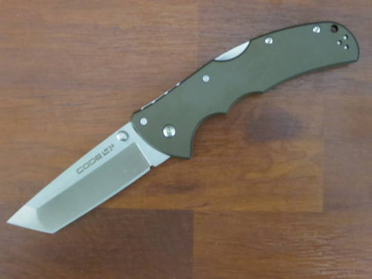 Cold Steel Code 4 Tanto Point S35VN Folding Knife