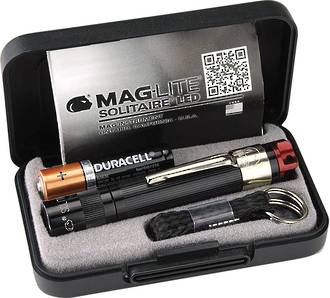 Maglite Solitaire LED Red Light 47 lumens