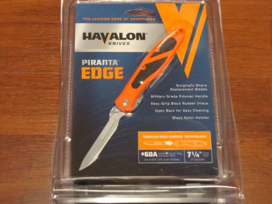 Havalon Piranta-Edge Quik-Change Orange