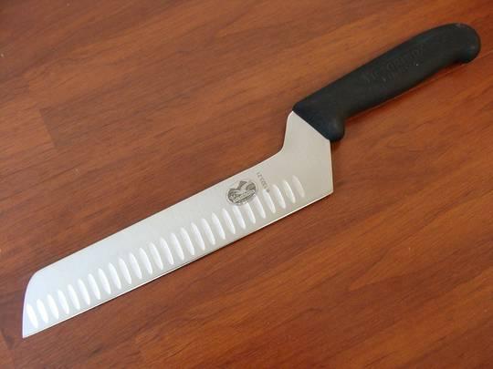 Victorinox  Fibrox Butter & Cream Cheese Knife Fluted 21cm