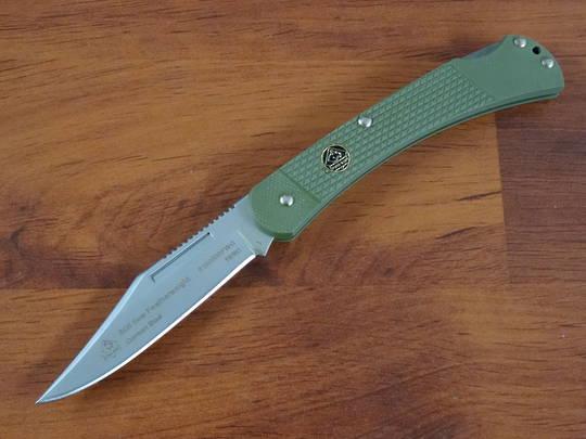 Puma SGB Bear Featherweight OD Green G10 Handles 6169600FWG