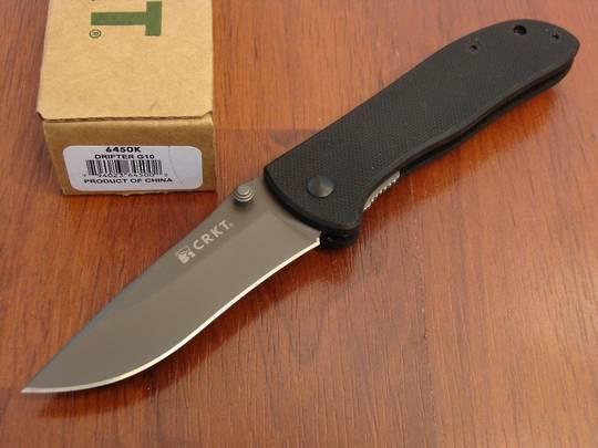 CRKT Drifter G10 Linerlock Folding Knife