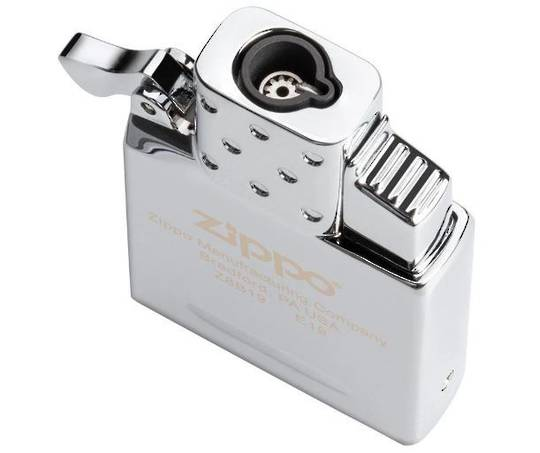 Zippo Butane Lighter Insert - Single Torch and Zippo case