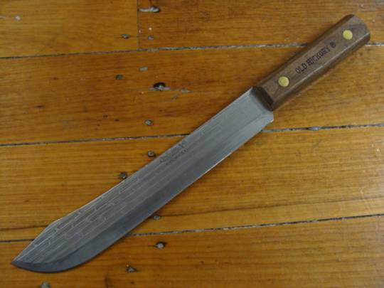 """Ontario Old Hickory Butcher 10"""" Knife"""
