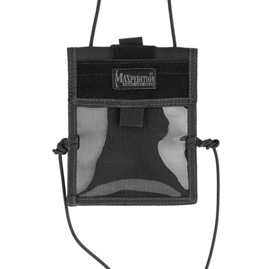 Maxpedition Traveler Passport Holder w/ Pocket - Black