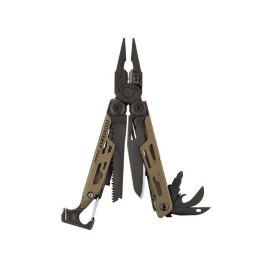 Leatherman Signal Multi-Tool Coyote Tan - Nylon Sheath