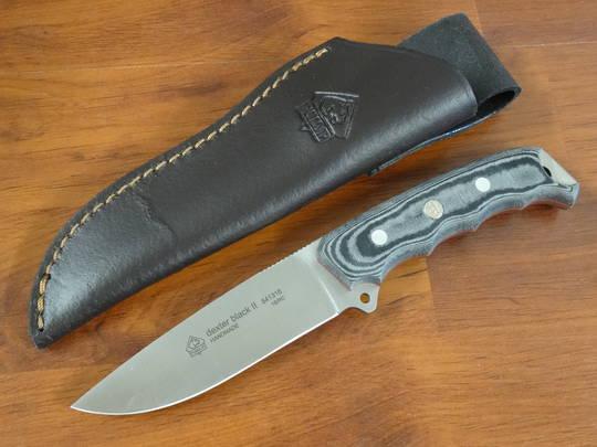 PUMA IP dexter black II Fixed Knife 841316