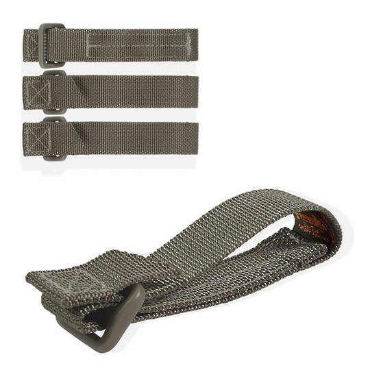"""Maxpedition TacTie Strap 3"""" (Pack of 4) - Foliage Green"""